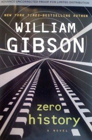 Zero History de William GIBSON